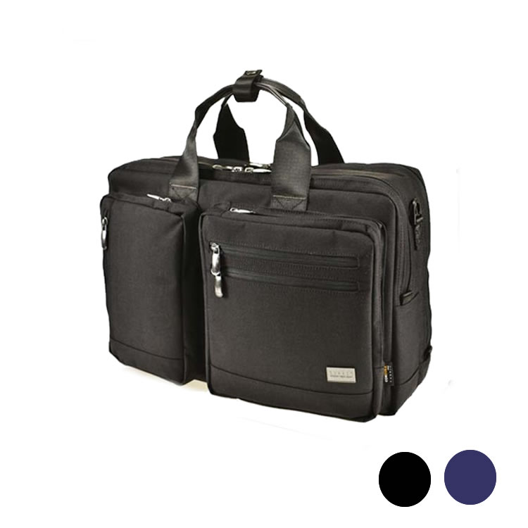ブリーフケース ブリーフバッグ メンズ ビジネスバッグ ダブルルーム 2室 2層 PCタブレットホルダー付き ショルダー付属 メンズ 自立  A3書類 収納 45cm BAGGEX バジェックス コマンド メンズ 紳士 男性用 バッグ かばん 鞄