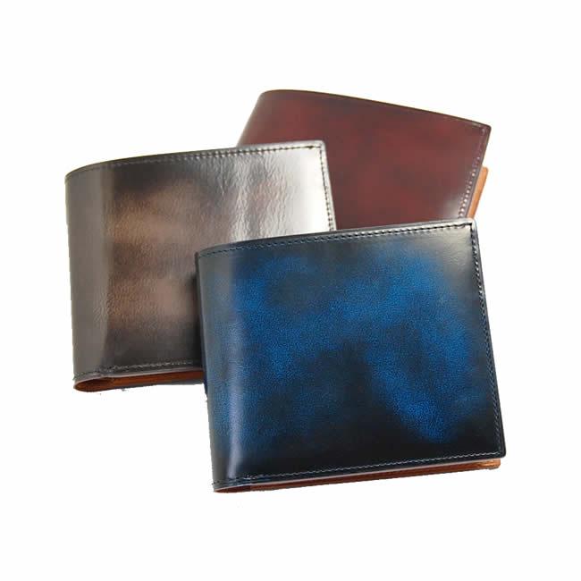 c3754a625d60 財布 メンズ 二つ折り box型 小銭入れあり 牛革 レザー 紳士用 紳士物 男性 ...
