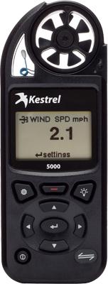 環境メーター/風速計、温度計、湿度計、気圧計、高度計、露点温度計、ケストレル5000(Kestrel 5000)