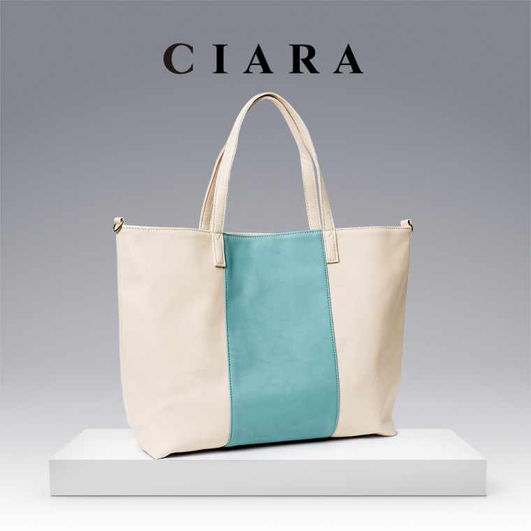 Eight colors of large-capacity, stylish by color tote bag