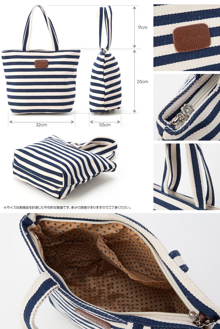 Border canvas fabric bags