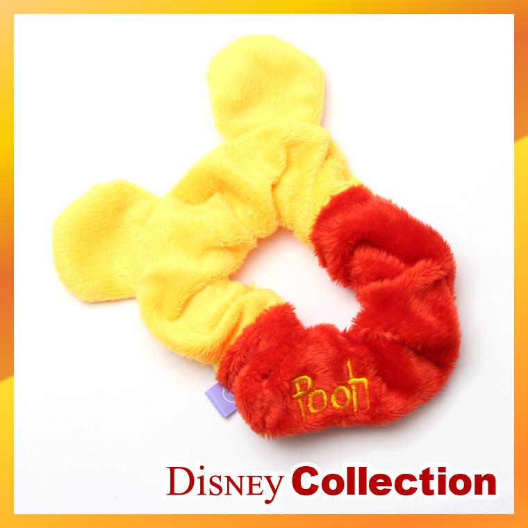 5c7ea0952d34 Disney official bear Winnie the Pooh s scrunchie hair pony accessories