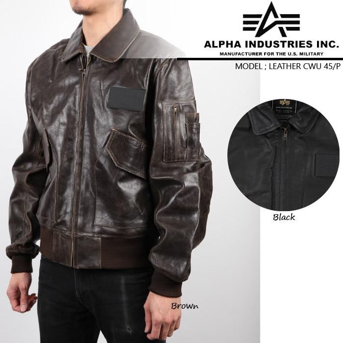 [XSサイズのみ] アルファ フライトジャケット Alpha Leather CWU-45P Flight Jacket MLC21012P1 レザージャケット 革ジャン フィールドジャケット ボマージャケット ボンバージャケット 軍 ミリタリー カジュアル 小さいサイズ▲[ブラック][ブラウン]ds-Y