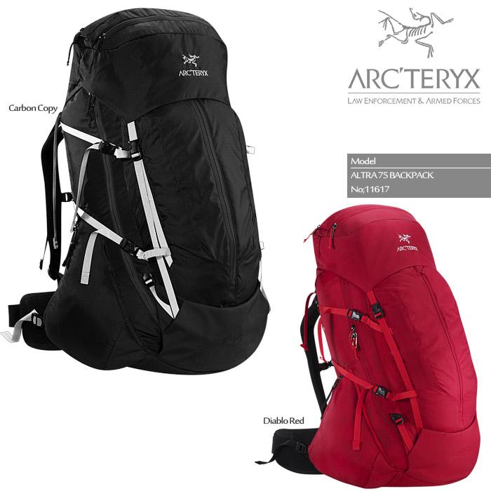 ARC'TERYX ALTRA 75 BACKPACK 11617 アークテリクス アルトラ75 バックパック バッグ 鞄 リュック 登山用 ザック