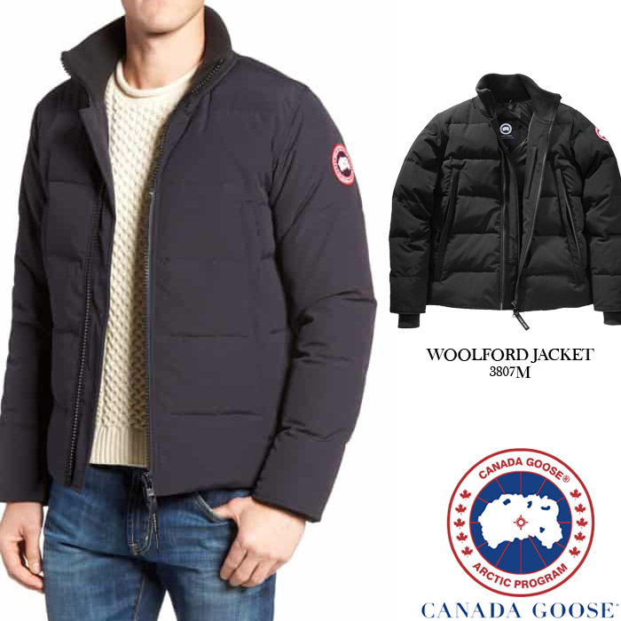 82dafde40 Canadian goose WOOLFORD JACKET CANADA GOOSE 3807M wool Ford jacket down  jacket down coat outer men man