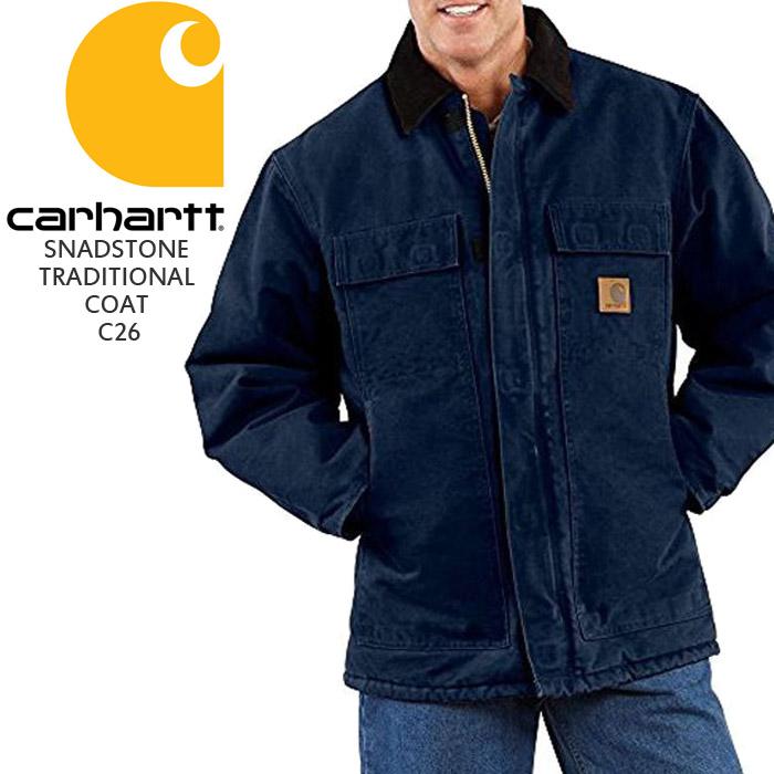 CARHARTT SNADSTONE TRADITIONAL COAT C26 カーハート ジャケット サンドストーン トラディショナルコート ダック