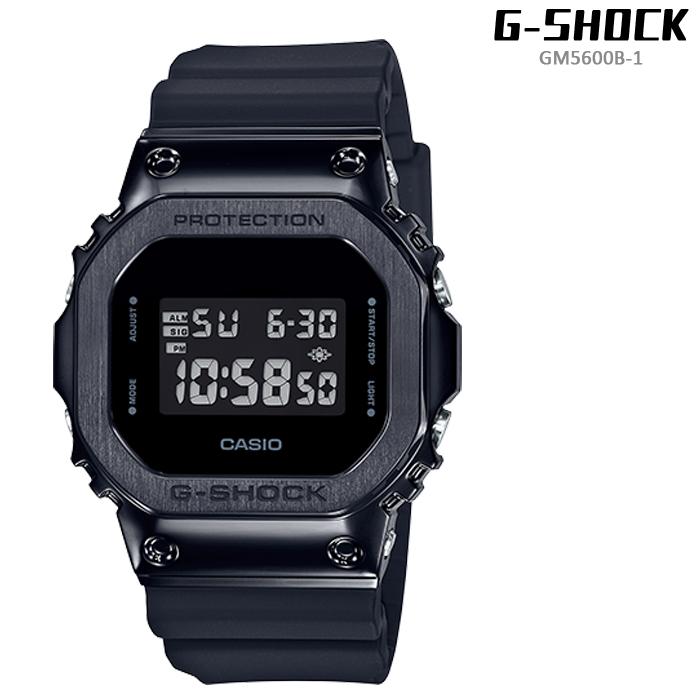Gショック 腕時計 G-SHOCK GM5600B-1 Black ジーショック メンズ 腕時計 CASIO カシオ タフソーラー 電波ソーラー プレゼント ギフト