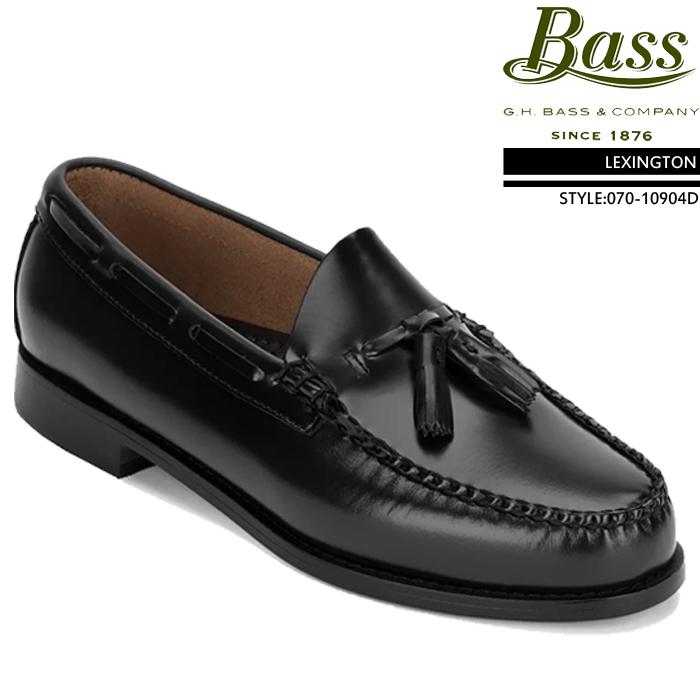 [特典アリ/セットで割引]ジーエイチバス GHバス コインローファー 革靴 G.H Bass LEXINGTON Brush off leather 070-10904D レキシントン ローファー ビジネスシューズ メンズ 男性 ▲[ブラック]ds-Y