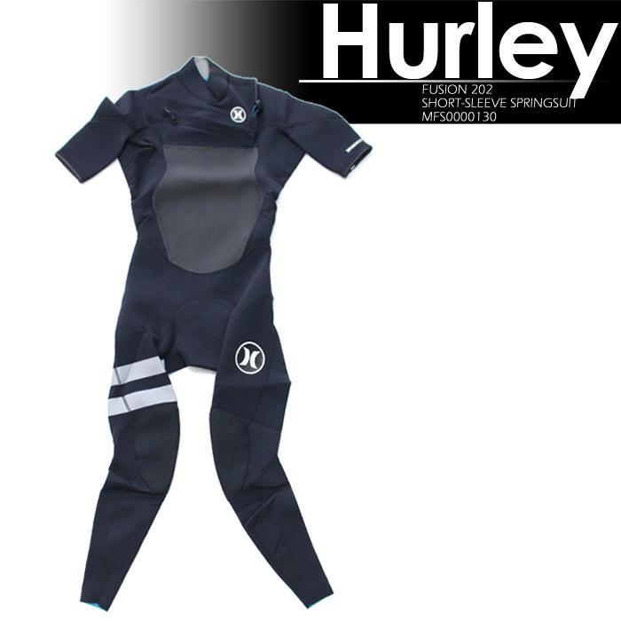 [あす楽]ハーレー MFS0000130 FUSION 202 SHORT-SLEEVE FULLSUIT HURLEY ウェットスーツ 水着 ハーレー フュージョン スーツ タッパー