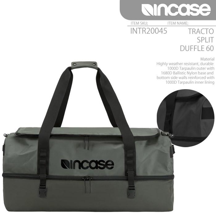 [あす楽]INCASE TRACTO SPLIT DUFFLE 60 インケース INTR20046-ANT 防水 ダッフルバッグ 60L APPLE アップル ダッフルバック 公認ブランド