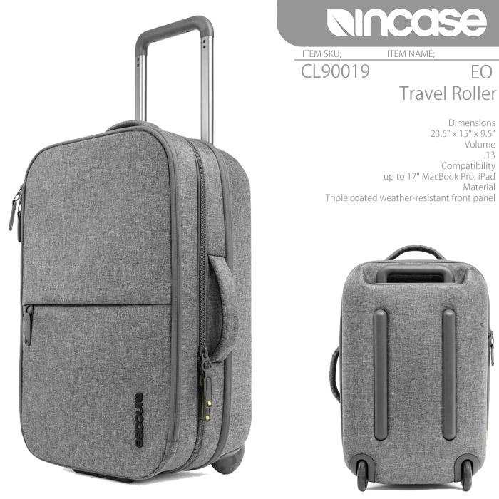 [あす楽]インケース INCASE EO Travel Roller CL90019 Heather Gray バッグ スーツケース ローラー キャリーバッグ Macbook AIR iPad