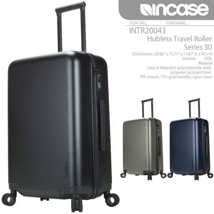 [あす楽]インケース Hubless Travel Roller Series 30 INCASE キャリーバッグ ローラーバッグ INTR100298 コロコロ APPLE アップル ハブレストラベルローラー キャリーケース スーツケース