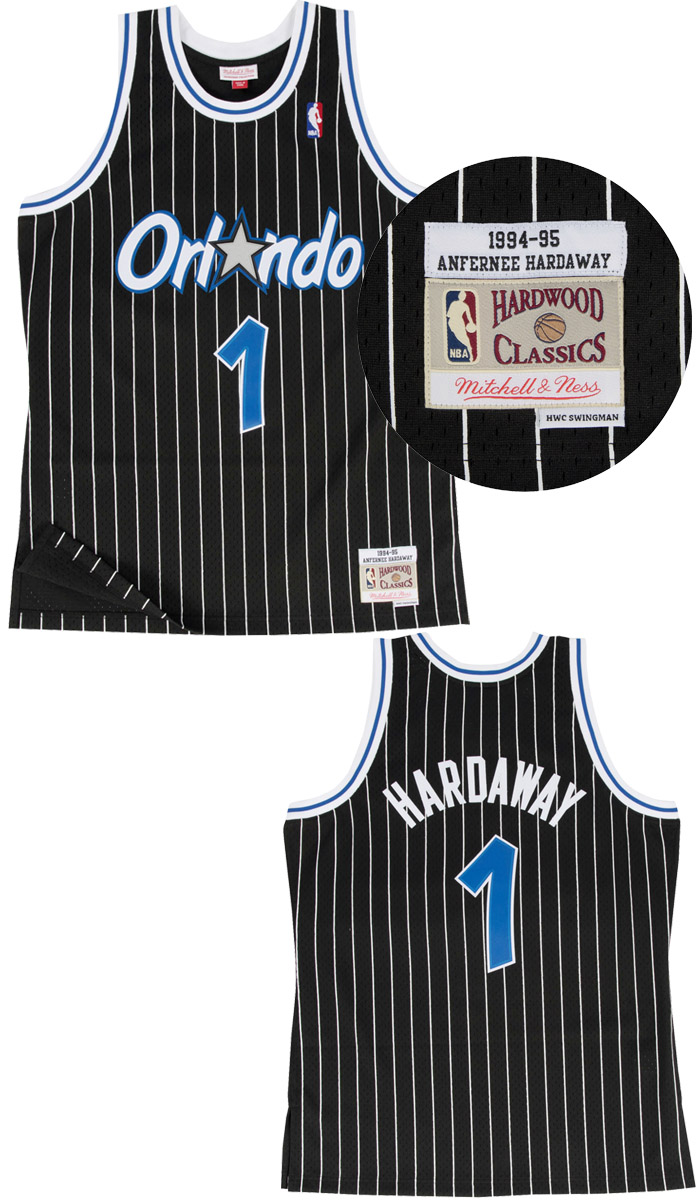 ad4a3d9e5 Mitchell    Ness Replica Swingman NBA Jersey HWC 1 Anfernee Hardaway  Orlando Magic Basketball Trikot Christmas Holiday