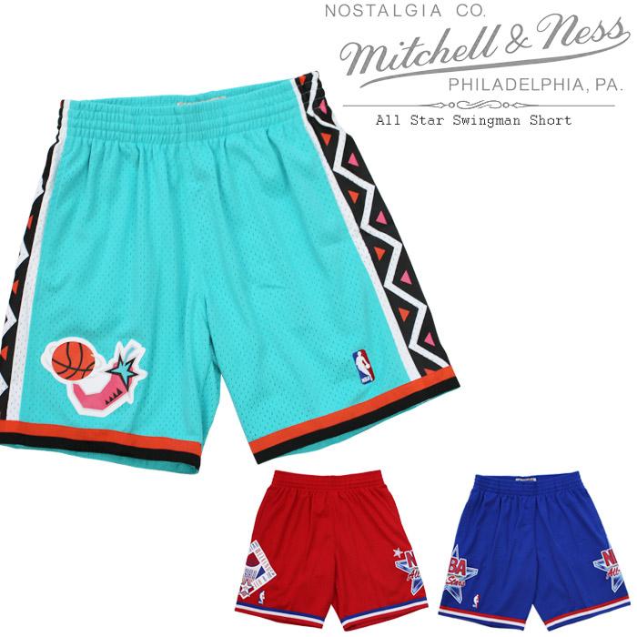 [あす楽]MITCHELL & NESS All Star Swingman Short オールスター スウィングマン ショーツ ミッチェル&ネス ショーツ ハーフパンツ ゲームパンツ スウィングマンジャージー