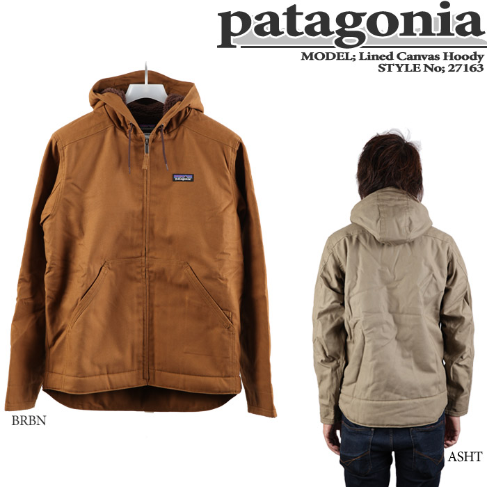 Patagonia canvas hoody