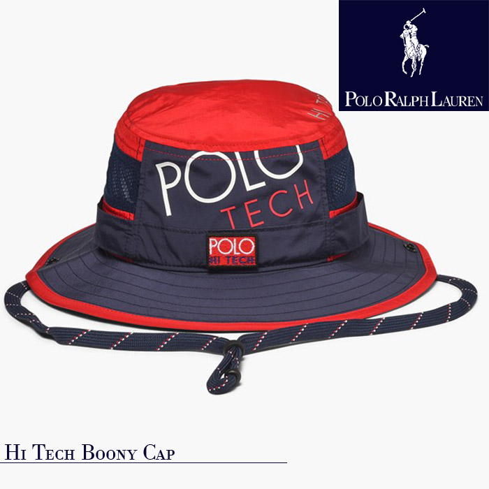 [送料無料]ポロ ラルフローレン 帽子 キャップ ハット polo ralph lauren HI TECH BOONEY CAP ハイテックブーニーキャップ ▲[ブルー][レッド][その他] ds-Y