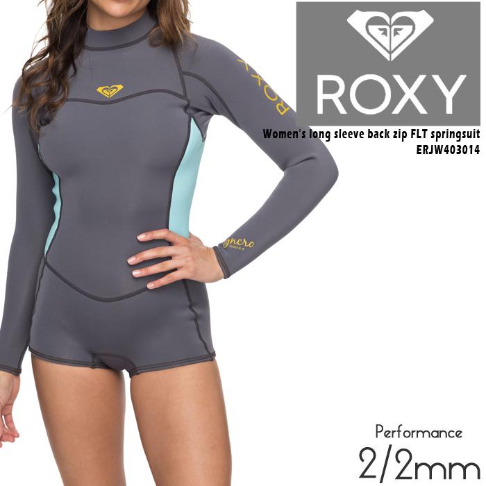ロキシー ウェットスーツ 女性用 長袖 スプリングスーツ ROXY long sleeve back zip FLT springsuit ERJW403014 ウーマンズ レディース サーフィン