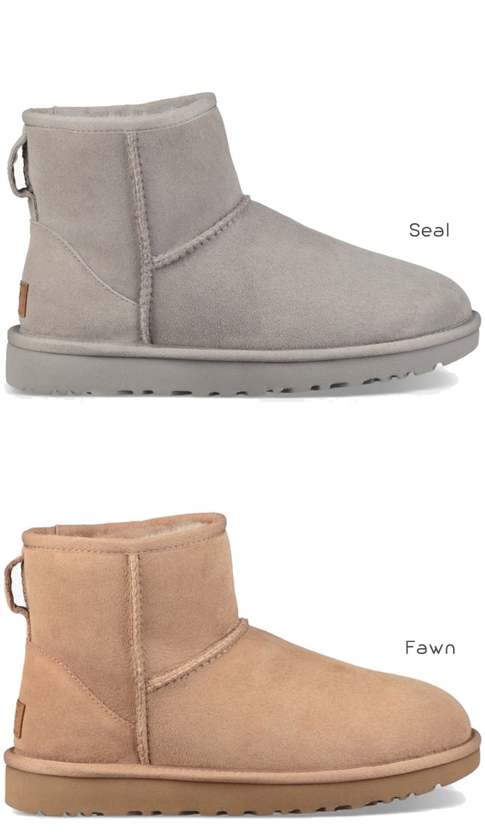 b022cd1bc25 [winter clothes before the tax increase] UGG mouton boots CLASSIC MINI II  アグクラシックミニ 2 moccasins sheepskin shoes women woman Lady's ...