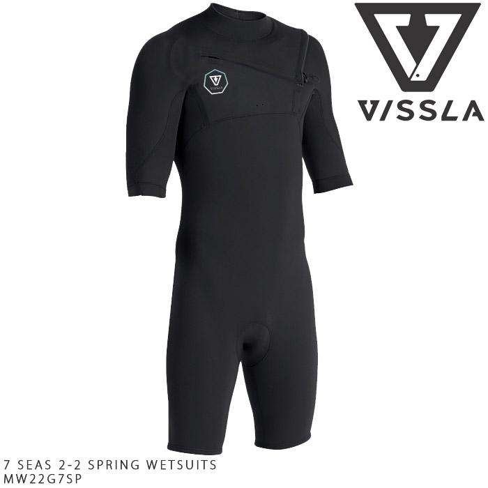 ヴィスラ ウェットスーツ VISSLA 7 SEAS 2-2 SPRING WETSUITS MW22G7SP スプリング サーフィン サーフ 大きいサイズ