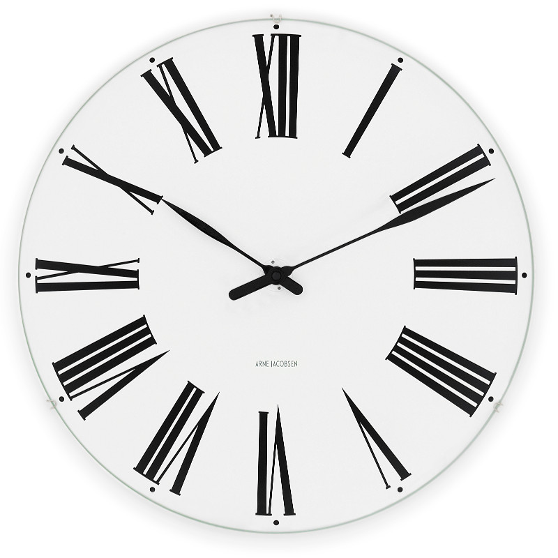 【3980円以上で送料無料!】アルネ・ヤコブセン ROMAN 29cm ローマン ウォールクロック Arne Jacobsen 壁掛け時計 北欧 デンマーク