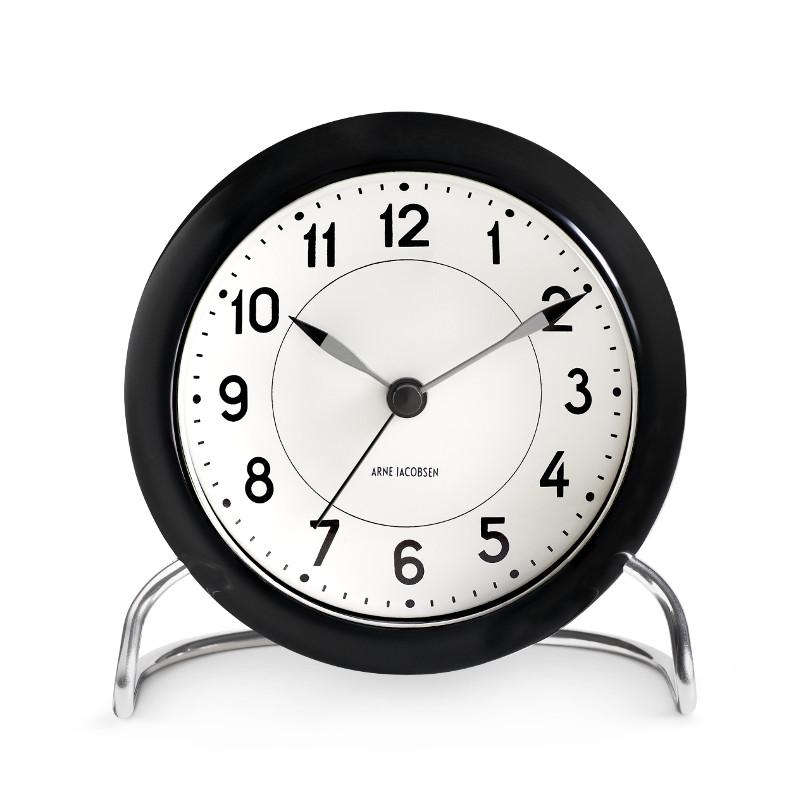 アルネ・ヤコブセン STATION ステーション テーブルクロック Arne Jacobsen 置き時計 北欧 デンマーク