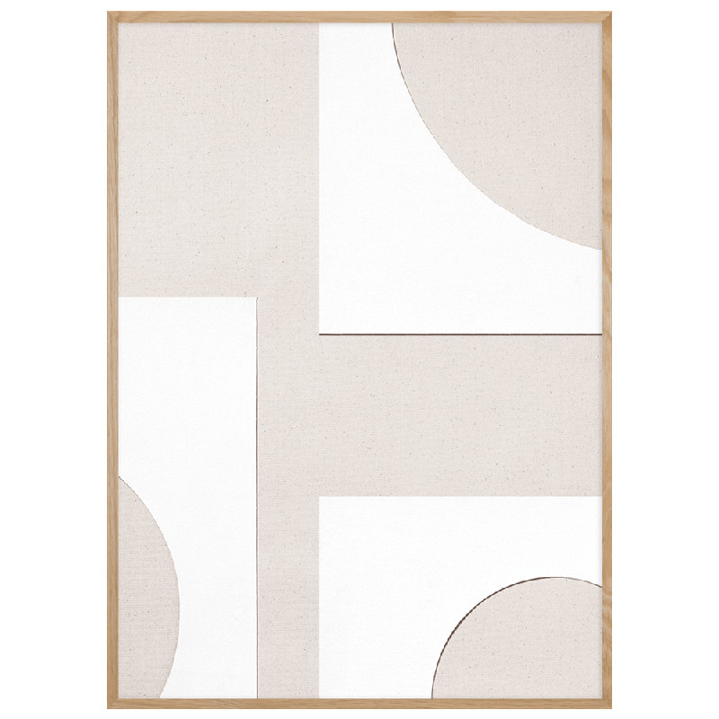 ATELIER CPH ポスター OBJECT BLANC [no.23] 50x70cm 北欧 おしゃれ インテリア インテリア雑貨 アトリエ シーピーエイチ アート アートポスター 50 70 絵画 絵 壁掛け モダン nest デンマーク