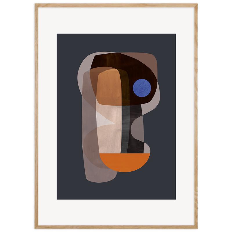 ATELIER CPH ポスター ABSTRACT Cubism 50x70cm 北欧 おしゃれ インテリア インテリア雑貨 アトリエ シーピーエイチ アート アートポスター 50 70 絵画 絵 壁掛け モダン nest デンマーク