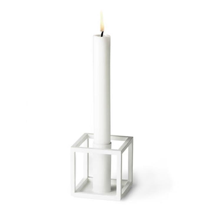 【最大2,000円OFFクーポン配布中!】Kubus 1 キャンドルホルダー ホワイト by Lassen 北欧 デンマーク