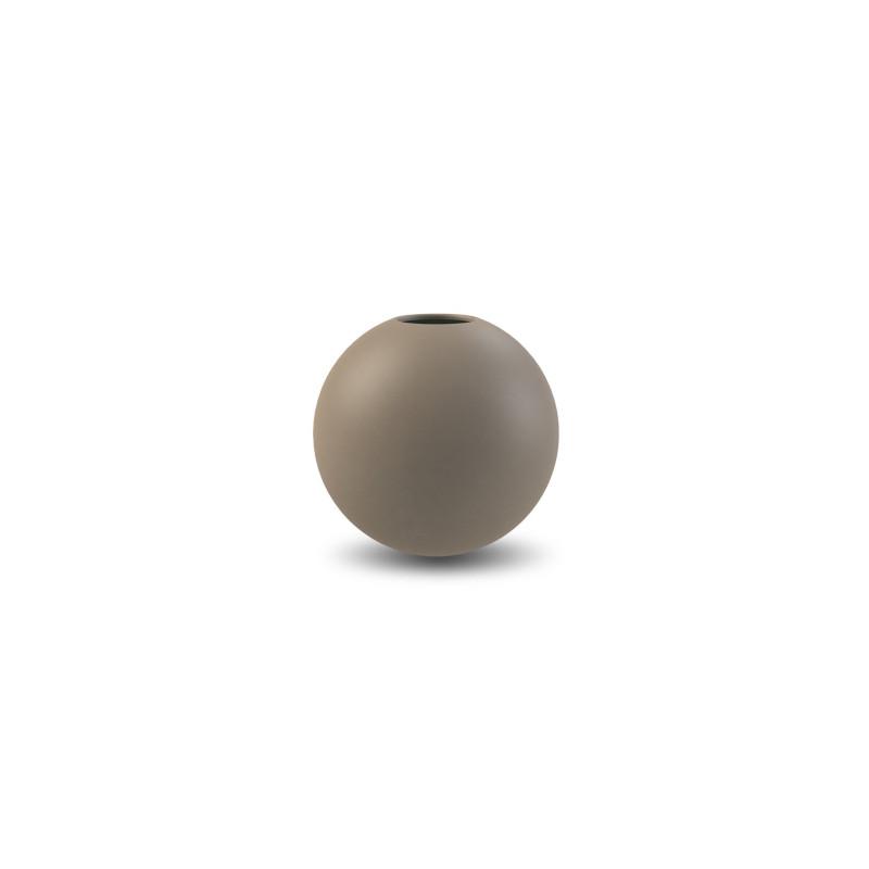 インスタで人気 いま 丸いものがスタイリッシュ Cooee Design 花瓶 ボール フラワーベース 低価格化 8cm マッド クーイーデザイン 一輪挿し クーイー モダン ブラウン nest 北欧 スウェーデン 陶器 倉 おしゃれ