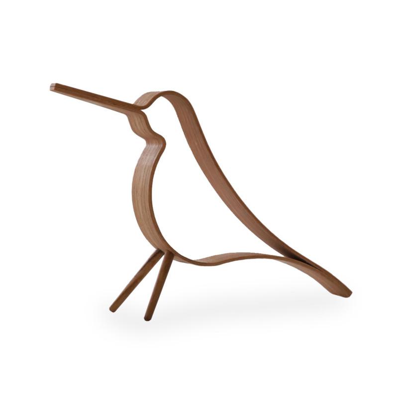 最初から名作の予感 Cooee Design ウッディ バード オーク L 20cm 鳥 木製 オブジェ おしゃれ Bird 北欧 Woody ショップ nest モダン クーイーデザイン スウェーデン クーイー サービス
