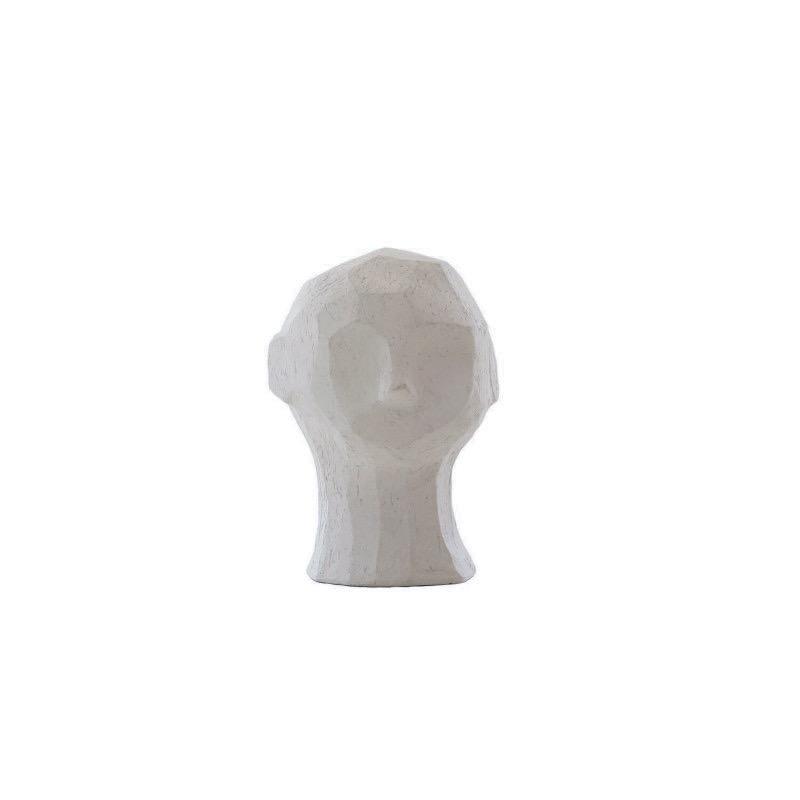 雰囲気たっぷりな人間像 至上 Cooee Design 彫像 オブジェ OLUFEMI ライムストーン 16cm おしゃれ モダン スウェーデン クーイーデザイン 高級な 北欧 nest クーイー