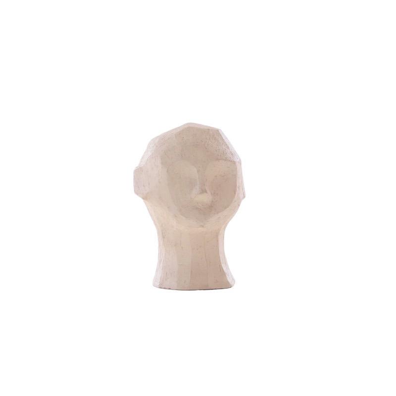 Cooee Design 彫像 オブジェ OLUFEMI サンド ベージュ 16cm 北欧 モダン おしゃれ nest クーイー クーイーデザイン スウェーデン