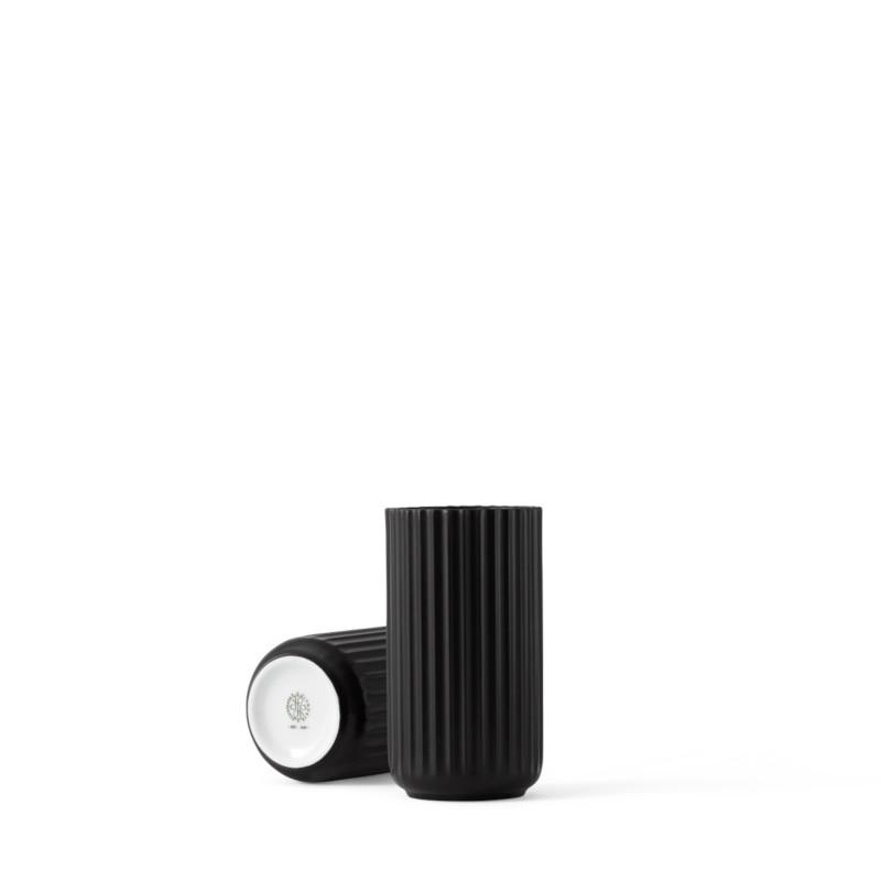 Lyngby Porcelain フラワーベース 15cm ブラック Lyngby Vase リュンビューポーセリン 北欧 デンマーク