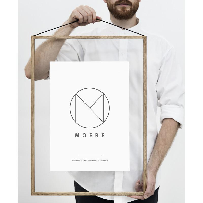 【最大2,000円OFFクーポン配布中!】MOEBE フレーム A2「オーク」 あなたのクリエイティビティを刺激する!ムーベ 北欧 デンマーク