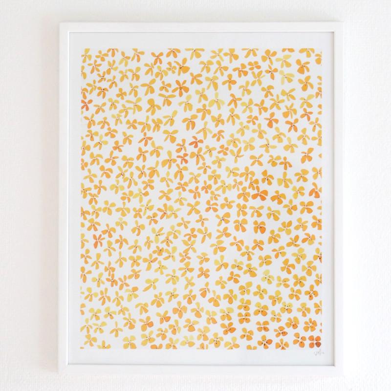 Silke Bonde 「Summerhouse/サマーハウス」 40x50 アートポスター 北欧 デンマーク