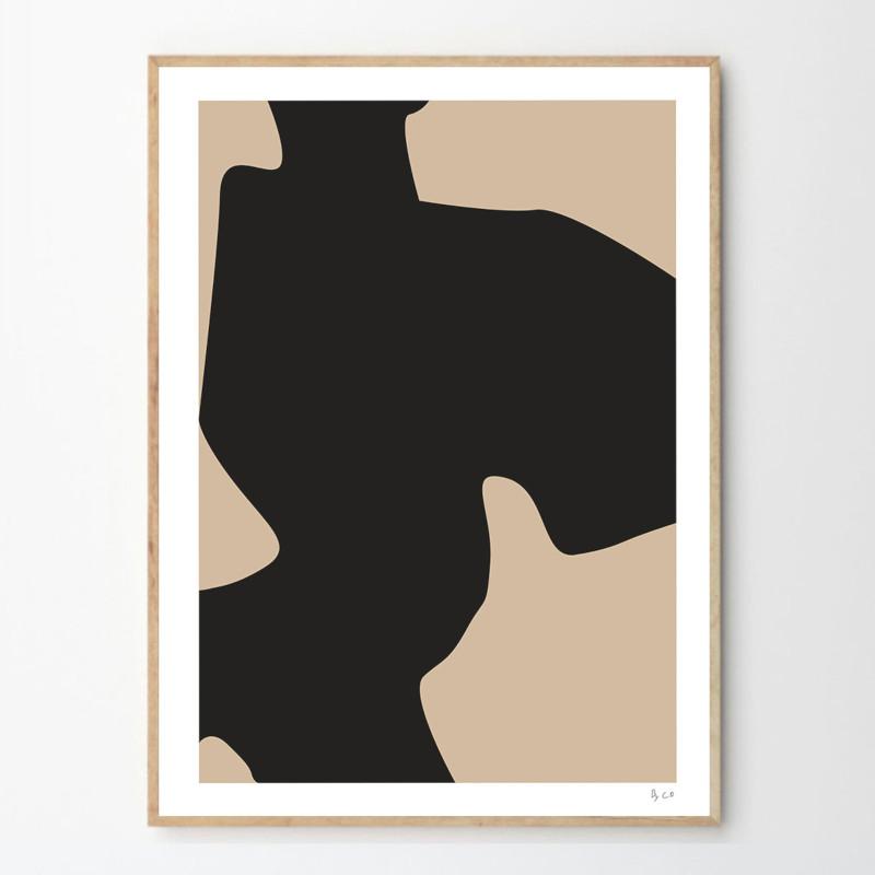 THE POSTER CLUB ポスター SIMPLE OBJECT 09 50x70cm 北欧 おしゃれ インテリア インテリア雑貨 抽象 アート アートポスター 50 70 絵画 絵 壁掛け モダン nest デンマーク
