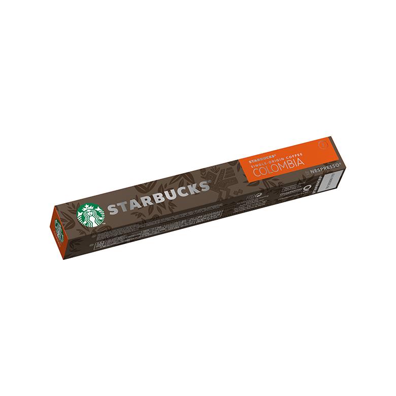 ナッツとほのかにフローラルさを感じさせる風味が特長 スターバックス コロンビア ネスプレッソ オンライン限定商品 専用カプセル 10杯分 ネスレ公式通販 スタバ starbucks コーヒーカプセル 珈琲 スタバコーヒー 互換カプセル 全国どこでも送料無料 レギュラーコーヒー エスプレッソコーヒー コーヒー スターバックスコーヒー 互換