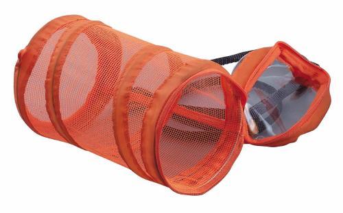 折りたたみ式コンパクト虫かご 収納袋付 メール便送料無料 オレンジ 春の新作シューズ満載 好評発売中 折りたたみ式コンパクト虫かごコロン オープニング 大放出セール