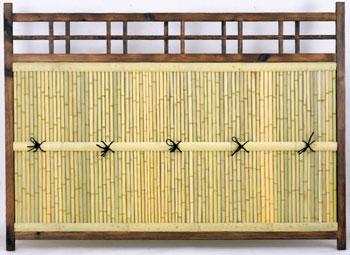 ※代引不可※目隠し竹フェンス横型(165x120cm)