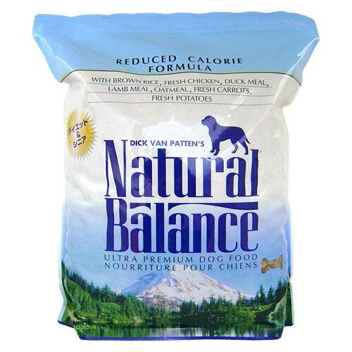 【送料無料】ナチュラルバランス ナチュラルバランス リデュースカロリー ドッグフード 12ポン(5.45kg)