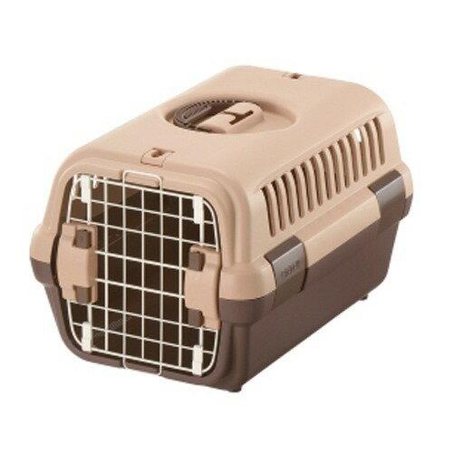 お外でキャリー お家でハウス ペットを守る丈夫なハードタイプです 期間限定 特価 売切れ次第終了 宅配便送料無料 リッチェル 1コ入 S ブラウン キャンピングキャリー