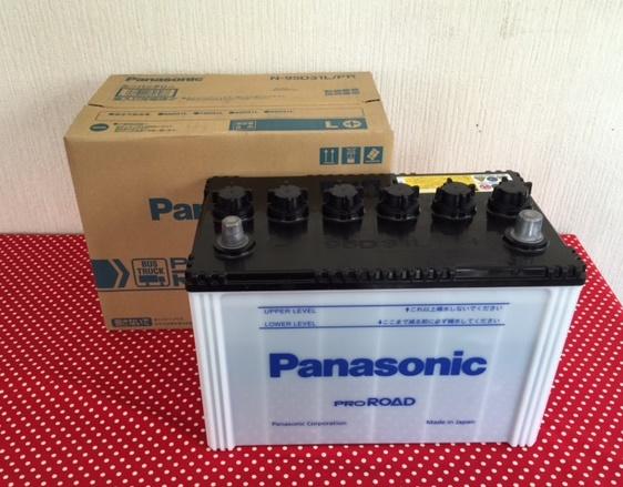 Panasonic 95D 31L /R1 バッテリー