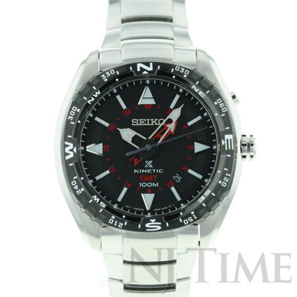 【新品】【メンズ】セイコー プロスペックス キネティック GMT SEIKO PROSPEX KINETIC GMT 【海外モデル】/SUN049P1
