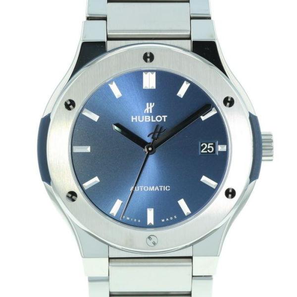 ウブロ クラシック フュージョン ブルー チタニウム ブレスレット HUBLOT Classic Fusion Blue Titanium Bracelet/510.NX.7170.NX【新品】【メンズ】