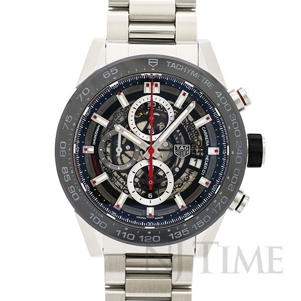 タグ ホイヤー カレラキャリバー ホイヤー01クロノグラフ45mm TAG HEUER Carrera calibre-heuer-01-chronograph-45mm/CAR2A1W.BA0703【新品】【メンズ】