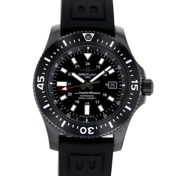 ブライトリング スーパーオーシャン ブラックラバーベルト BREITLING SUPER OCEAN BLACK RUBBER BELT/M192B92VRC【新品】【メンズ】