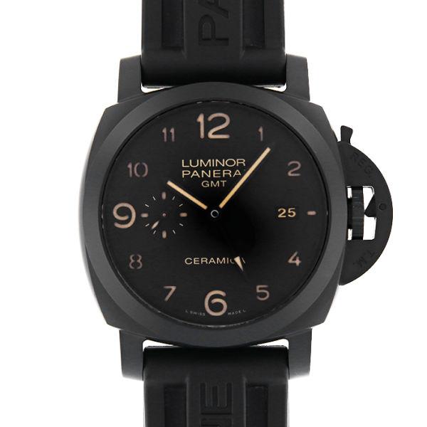 パネライ ルミノール1950 3デイズ GMT セラミカ PANERAI LUMINOR 1950 3DAYS GMT CERAMICA/PAM00441【中古】【メンズ】