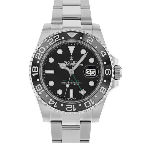 ロレックス GMTマスターII ROLEX GMT-MASTERII 未使用品/116710LN【新品】【メンズ】