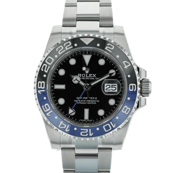 ロレックス GMTマスターII ROLEX GMT-MASTERII/116710BLNR【新品】【メンズ】