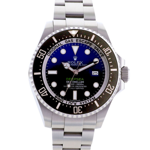 ロレックス シードゥエラー ディープシー Dブルー ダイアル ROLEX SEA-DWELLER DEEP SEA D-BLUE DIAL/116660【中古】【メンズ】